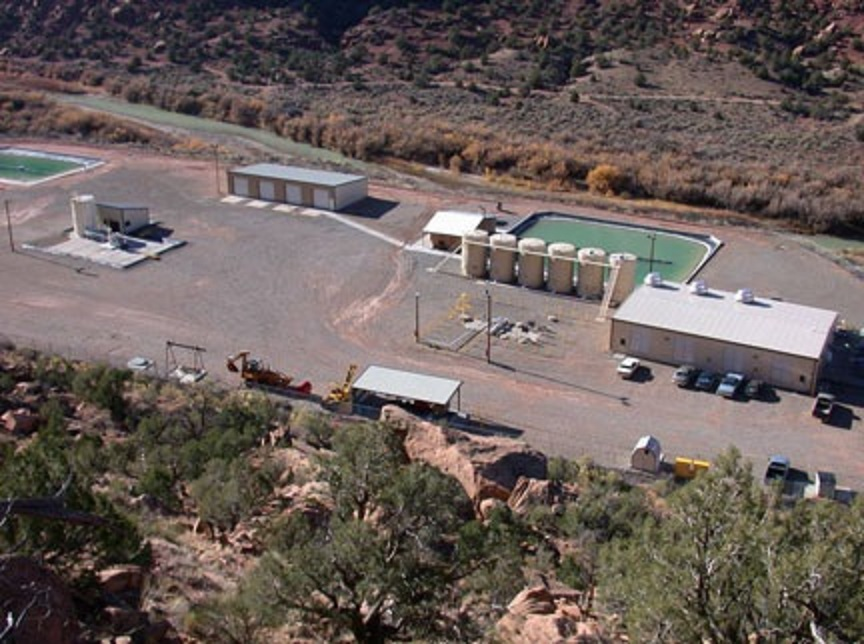 Paradox Valley brine injection facility